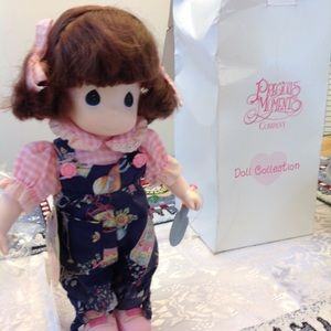 """Precious Moments 1st Edition doll, July, 13"""", new"""